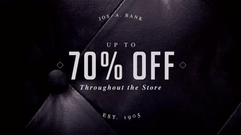 JoS. A. Bank After Thanksgiving Sale TV Spot, 'Suits, Shirts and Ties' - Thumbnail 2