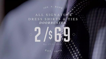 JoS. A. Bank After Thanksgiving Sale TV Spot, 'Suits, Shirts and Ties' - Thumbnail 4