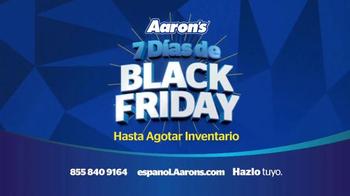 Aaron's 7 Días de Black Friday TV Spot, 'Un gran ahorro' [Spanish] - Thumbnail 5
