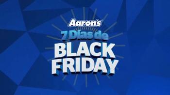 Aaron's 7 Días de Black Friday TV Spot, 'Un gran ahorro' [Spanish] - Thumbnail 1