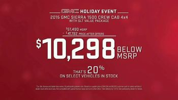 GMC Holiday Event TV Spot, 'Quite the Snowman' [T2] - Thumbnail 7