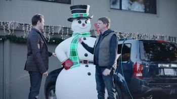 GMC Holiday Event TV Spot, 'Quite the Snowman' [T2] - 1862 commercial airings