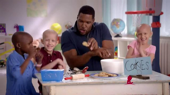 St. Jude Children's Research Hospital TV Spot, 'Thanks and Giving: Michael' - 128 commercial airings