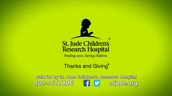 St. Jude Children's Research Hospital TV Spot, 'Thanks and Giving: Michael' - Thumbnail 9