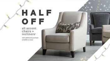 Bassett TV Spot, 'Accent Chairs and Recliners' - Thumbnail 2