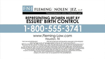 Fleming, Nolen, Jez TV Spot, 'Essure Birth Control' - Thumbnail 6
