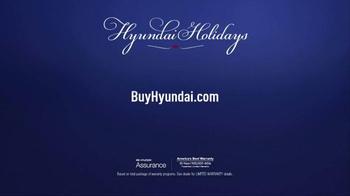 Hyundai Holidays Sales Event TV Spot, 'Happiest Holidays: Sedan' - Thumbnail 8