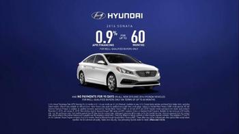 Hyundai Holidays Sales Event TV Spot, 'Happiest Holidays: Sedan' - Thumbnail 7