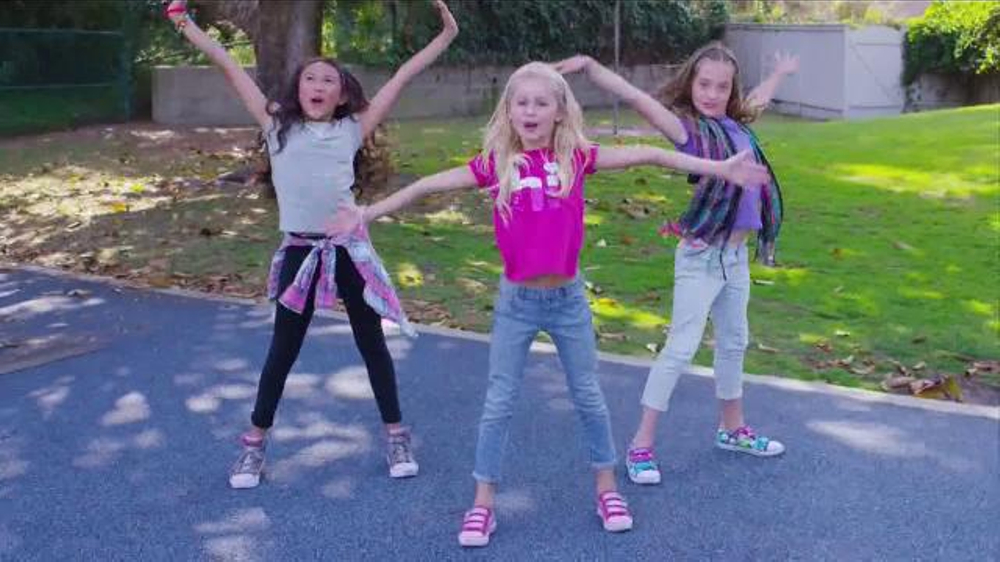 skechers twinkle toes commercial