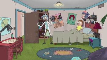 Carl's Jr. Tex Mex Bacon Thickburger TV Spot, 'Adult Swim: Rick and Morty' - Thumbnail 3