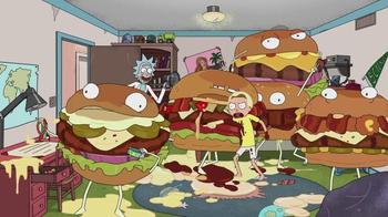 Carl's Jr. Tex Mex Bacon Thickburger TV Spot, 'Adult Swim: Rick and Morty' - Thumbnail 7
