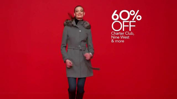 Macy's Cyber Monday Sale TV Spot, 'Coats, Boots and Small Appliances' - Thumbnail 3
