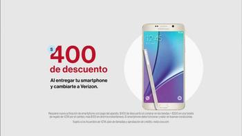 Verizon TV Spot, 'Temporada festiva: Galaxy Note 5' [Spanish] - Thumbnail 4