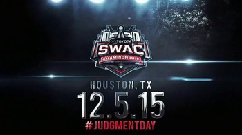 SWAC 2015 Toyota SWAC Football Championship TV Spot, 'R. Kelly' - 1 commercial airings