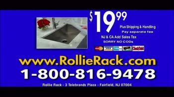 Rollie Rack TV Spot, 'Rolling Dish Rack' - Thumbnail 9