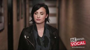 NAMI Be Vocal: Speak Up for Mental Health TV Spot, 'Change' Ft. Demi Lovato - Thumbnail 3