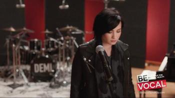 NAMI Be Vocal: Speak Up for Mental Health TV Spot, 'Change' Ft. Demi Lovato - Thumbnail 5