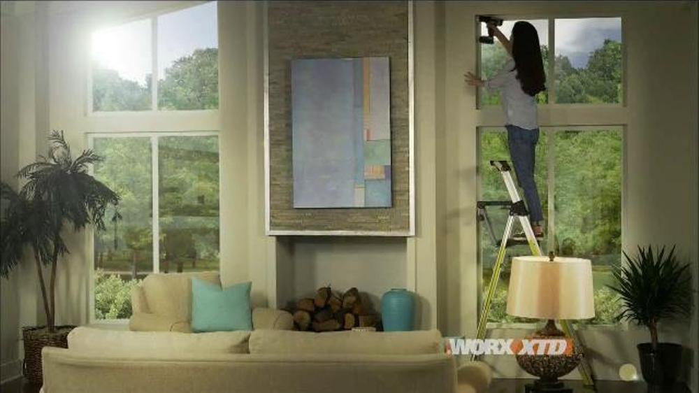 Worx XTD TV Commercial, 'Can't Reach It, Can't Drive It'
