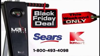 MaxiClimber Black Friday Deal TV Spot, 'Sculpt' - Thumbnail 4