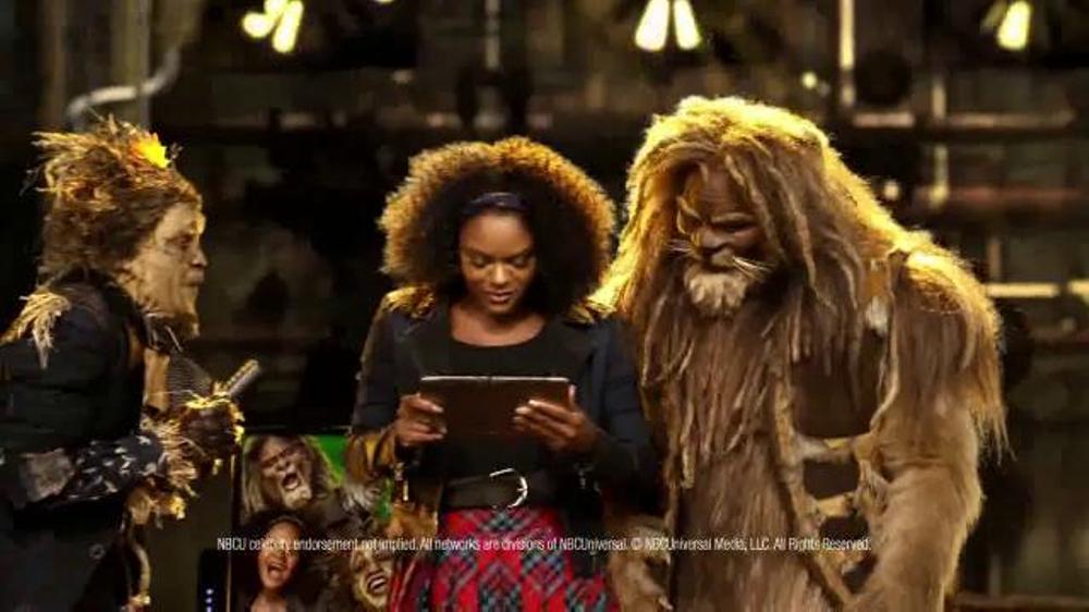 XFINITY X1 TV Commercial, 'NBC: The Wiz Live!' Feat  Shanice Williams,  Ne-Yo - Video