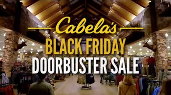 Cabela\'s Black Friday Doorbuster Sale TV Spot, \'Safe, Ammunition and Rifle\'