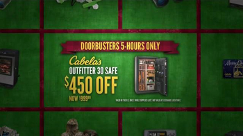 Cabela's Black Friday Doorbuster Sale TV Spot, 'Safe, Ammunition and Rifle' - Thumbnail 5