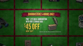 Cabela's Black Friday Doorbuster Sale TV Spot, 'Safe, Ammunition and Rifle' - Thumbnail 6