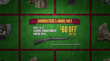 Cabela's Black Friday Doorbuster Sale TV Spot, 'Safe, Ammunition and Rifle' - Thumbnail 7
