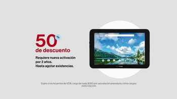 Verizon TV Spot, 'Lista de regalos: un tablet' [Spanish] - 245 commercial airings