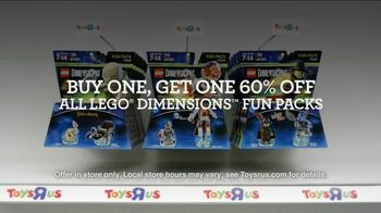 Toys R Us Black Friday TV Spot, 'LEGO Dimensions Fun Packs' - 208 commercial airings