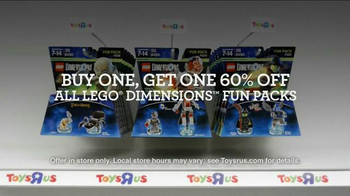 Toys R Us Black Friday TV Spot, 'LEGO Dimensions Fun Packs'