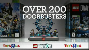Toys R Us Black Friday TV Spot, 'LEGO Dimensions Fun Packs' - Thumbnail 3