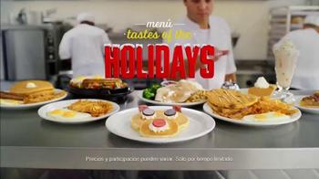 Denny's Rudolph Pancakes TV Spot, 'Sabores del navideño' [Spanish] - Thumbnail 10
