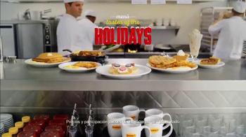 Denny's Rudolph Pancakes TV Spot, 'Sabores del navideño' [Spanish] - Thumbnail 9