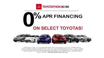 Toyota Toyotathon TV Spot, 'Toyotathon Rocks' - Thumbnail 4