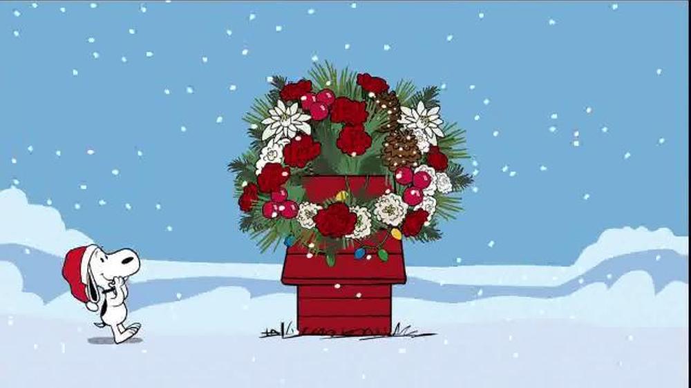 teleflora tv commercial peanuts happy dance ispottv - Peanuts Christmas Dance