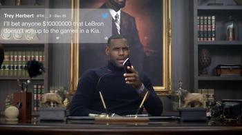 2016 Kia K900 TV Spot, 'Ten Mil' Featuring LeBron James - Thumbnail 3