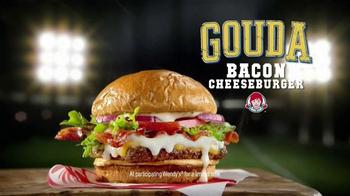 Wendy's Gouda Bacon Cheeseburger TV Spot, 'Sports Play' - Thumbnail 1