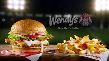 Wendy's Gouda Bacon Cheeseburger TV Spot, 'Sports Play' - Thumbnail 8
