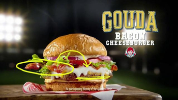 Wendy's Gouda Bacon Cheeseburger TV Spot, 'Sports Play' - Thumbnail 2