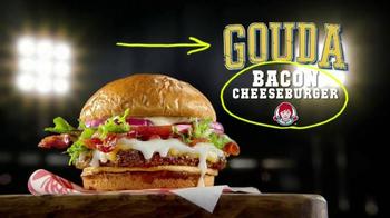 Wendy's Gouda Bacon Cheeseburger TV Spot, 'Sports Play' - Thumbnail 6