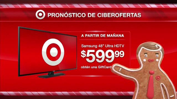 Target TV Spot, 'Ciberlunes: Ultra HDTVs' [Spanish] - 30 commercial airings