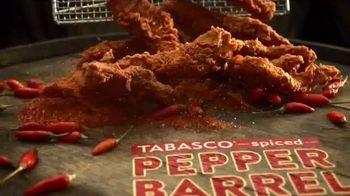 Popeyes Pepper Barrel Tenders TV Spot, 'Time Is the Secret'