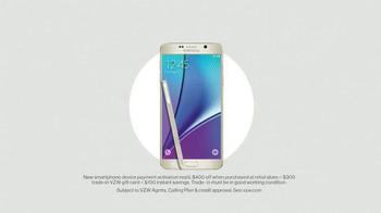 Verizon TV Spot, 'Holiday Season: Galaxy Note 5' - Thumbnail 4