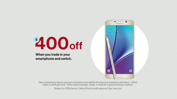 Verizon TV Spot, 'Holiday Season: Galaxy Note 5' - Thumbnail 5