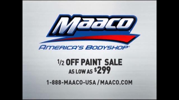 Maaco Half-Off Paint Sale TV Spot, 'Watch for Ice' - Thumbnail 8