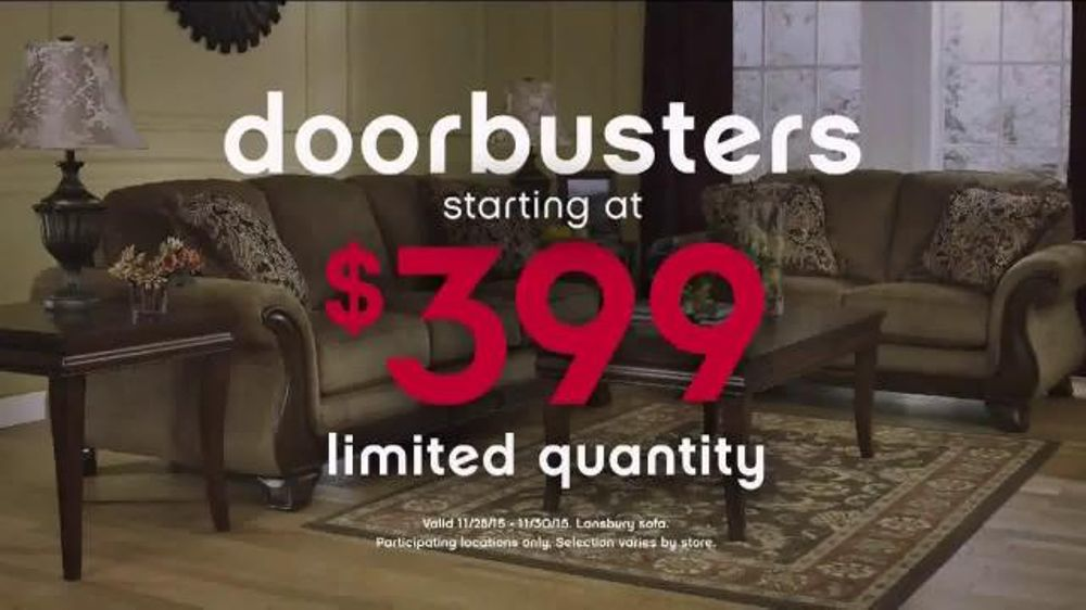 Ashley Furniture Homestore Black Friday 36 Hour Sale Tv Commercial 39 More Time 39