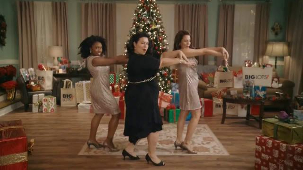 Big Lots TV Commercial, \'Christmas Woman\' - iSpot.tv