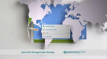 AncestryDNA TV Spot, 'Cyber Monday: Ethnic Mix' - Thumbnail 7