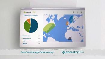 AncestryDNA TV Spot, 'Cyber Monday: Ethnic Mix' - Thumbnail 8